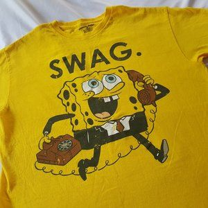 Spongebob Swag Shirt Official Nickelodeon Medium